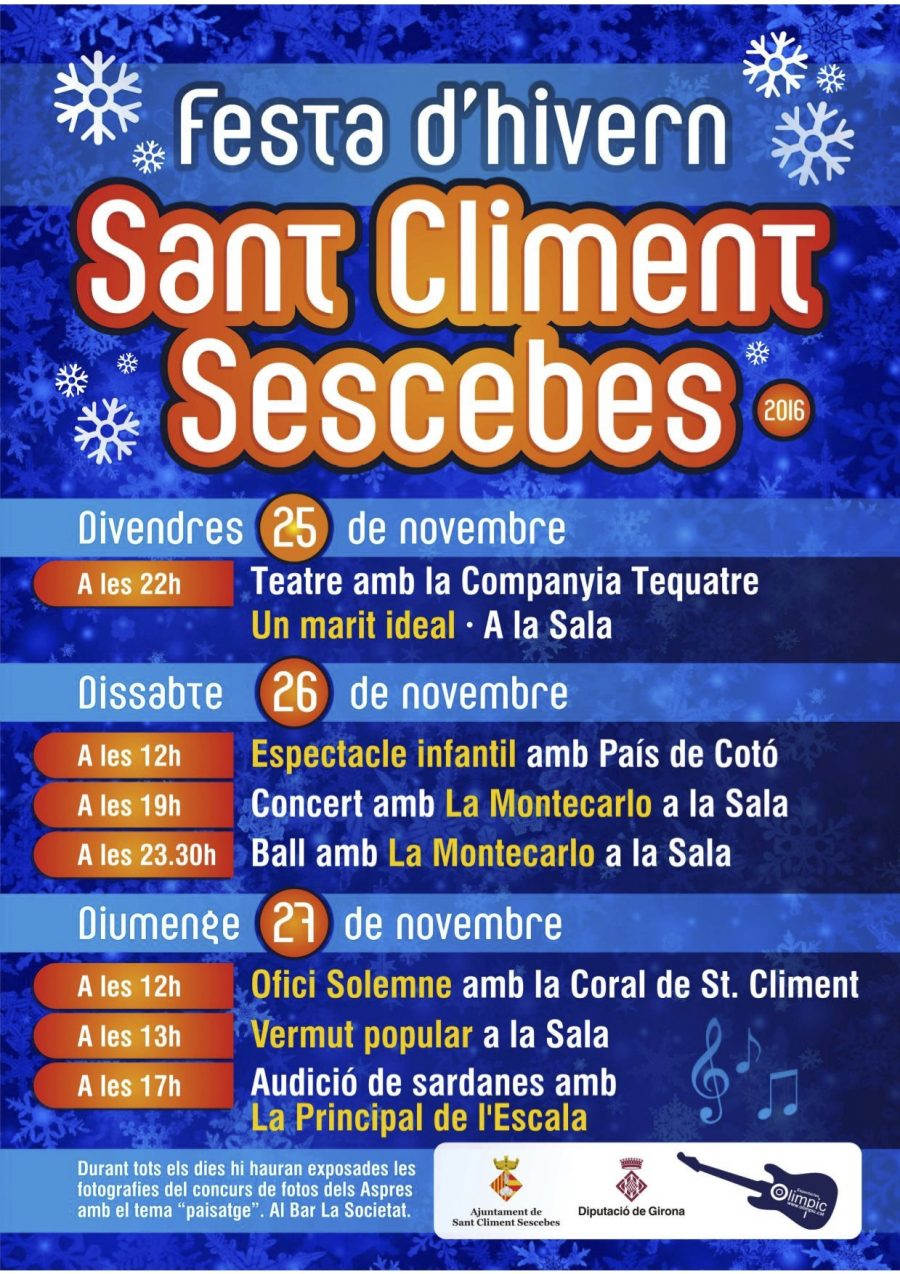 Festa Major Sant Climent Sescebes